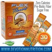 Flex Flavors Coconut Biscotti
