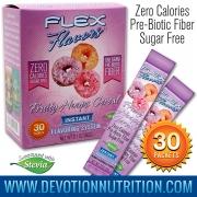 Flex Flavors Fruity Hoops Cereal