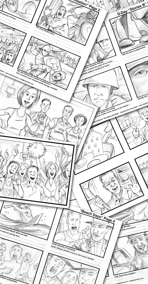 storyboard samples