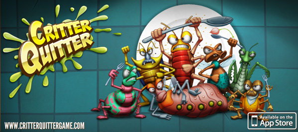 critter quitter iPad game