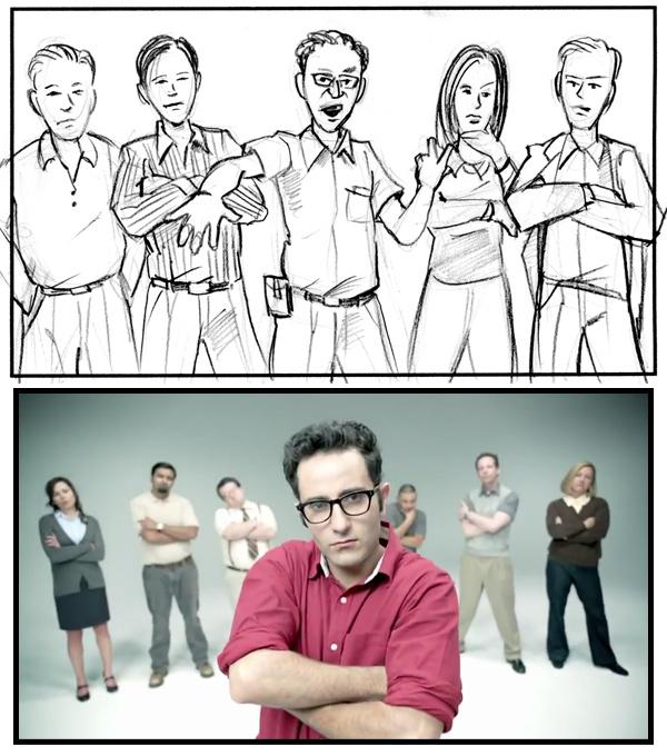 Java Life Storyboard Frame Group Posing
