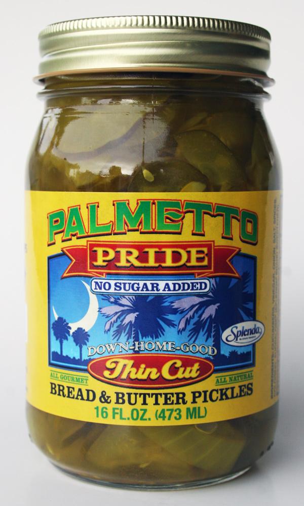 Palmetto Pride Pickles Label Design