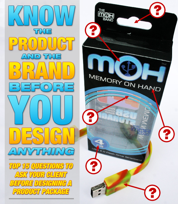 15 Questions To Ask Clients Before Designing A Product Package Beats Digging Ditches Custom Product Packaging Design