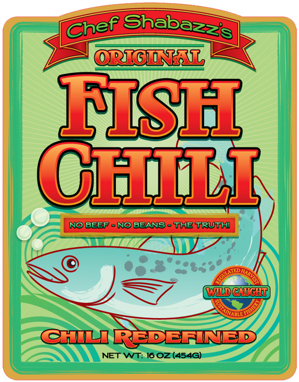 Fish Chile Final Label Design