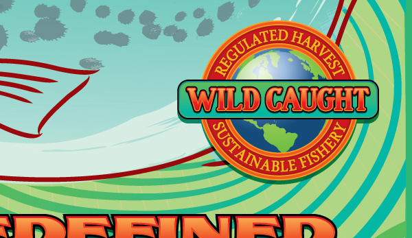 Fish Chili Wild Caught Sustainable Fisheries Decal