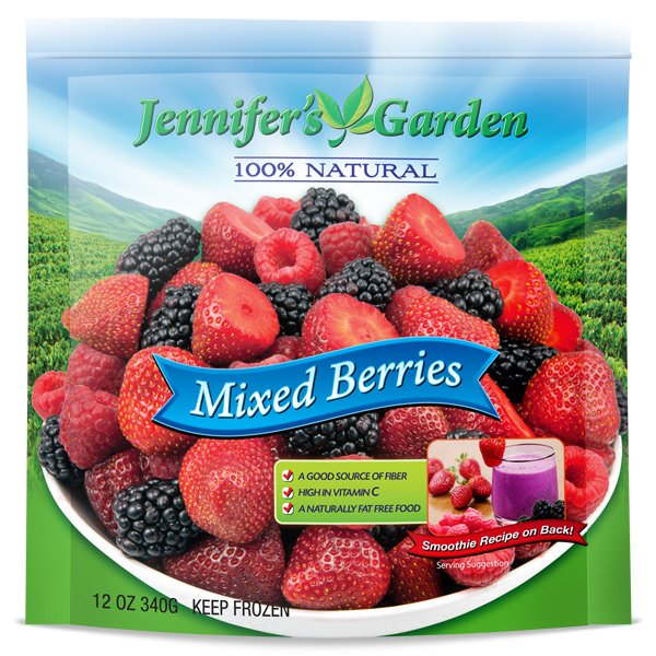 Mixed Berry Stand Up Pouch Jennifers Garden