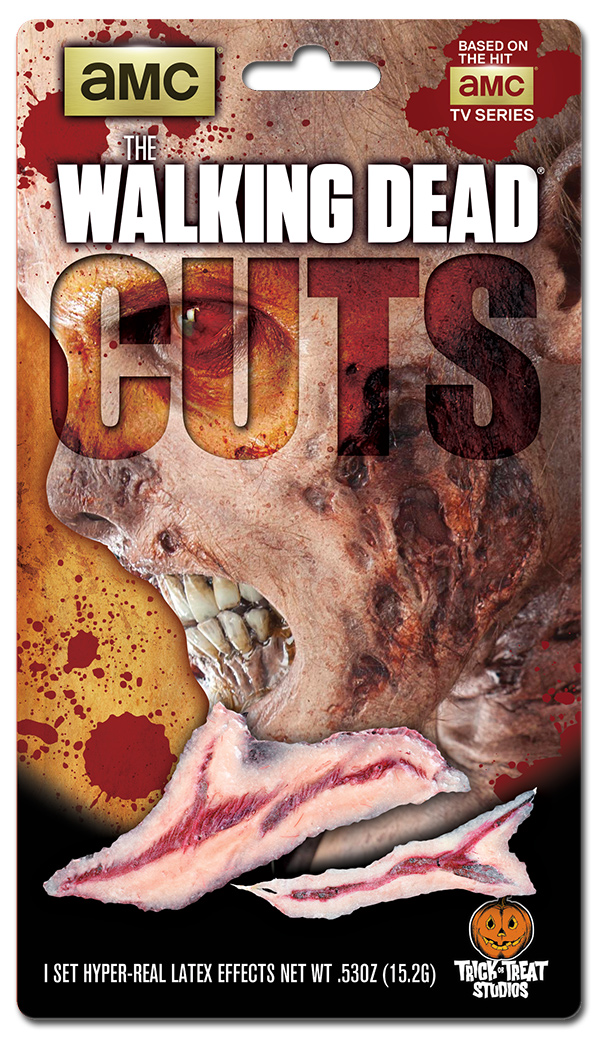 Blister Package Design for The Walking Dead Cuts Makeup Effects Appliances