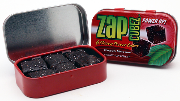 Zap Cubez Tin Box Design