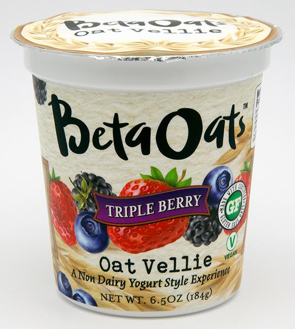 Beta Oats Non Dairy Yogurt Container Label Design