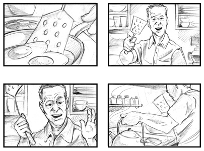 Storyboard Sample Bbc My Place My Space Promote Your Day Out With