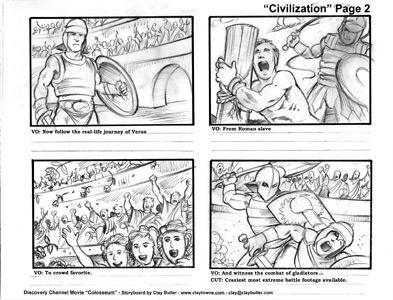 Amazing Large Image Of Storyboard Illustration Sample