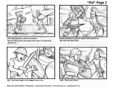 Storyboards - Dean Tatulli.com