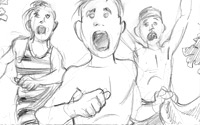 Storyboard Illustration Sample